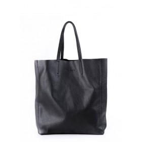 Кожаная сумка Pool Party City Black Bag