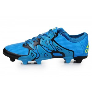 Adidas X 15.1 FG Blue Black мужские кроссовки