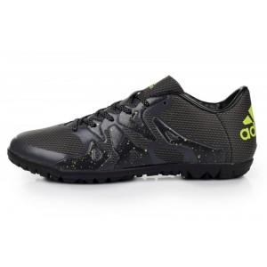 Adidas X 15.3 TF Solar Black мужские кроссовки