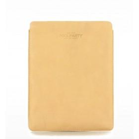 Кожаный чехол для iPad (Айпад) Pool Party Leather Beige