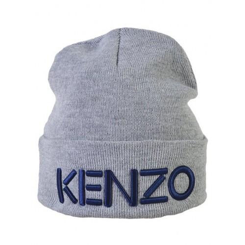 Шапка Kenzo серая