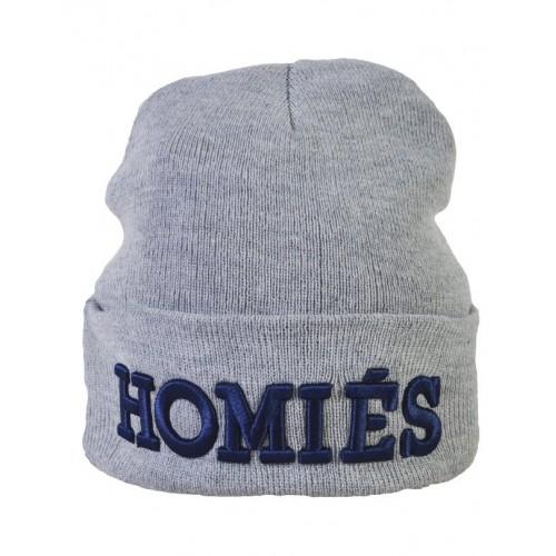 Шапка Homies серая