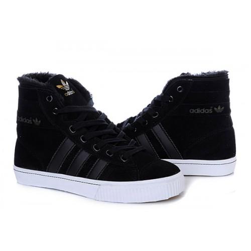 Мужские кроссовки Adidas AdiTennis Fur Black
