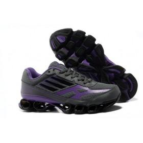 Adidas Bounce Titan Black Purple женские кроссовки