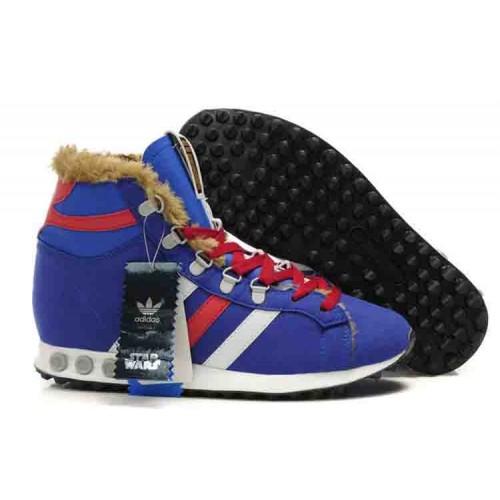Мужские кроссовки Adidas Star Wars Chewbacca Blue