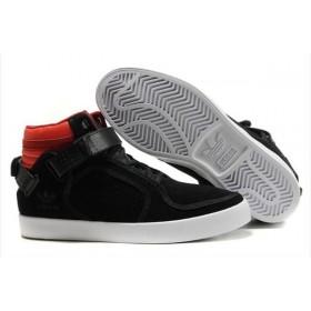 Adidas Adi-Rise Mid Black Red мужские кроссовки
