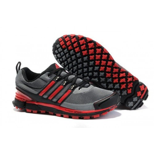 Adidas Adistar Raven Red Gray мужские кроссовки