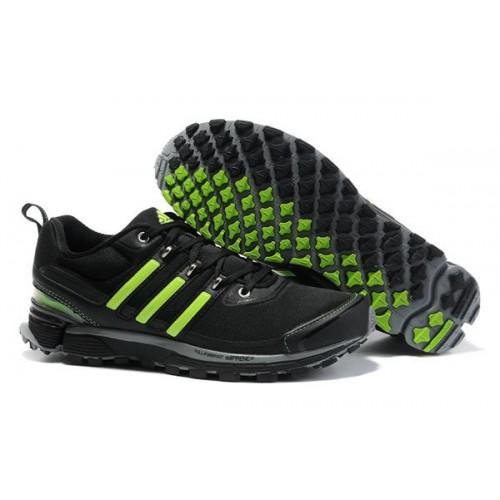 Adidas Adistar Raven Black Green мужские кроссовки