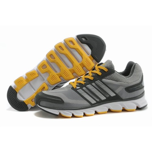 Adidas ClimaCool5 Gray Yellow мужские кроссовки