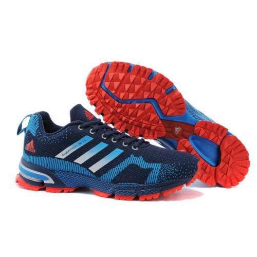 Кроссовки Adidas Marathon 10 Red Blue мужские кроссовки
