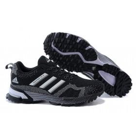 Adidas Marathon 10 Black мужские кроссовки
