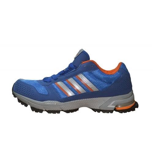 Кроссовки Adidas Marathon 10 Blue Gray мужские кроссовки