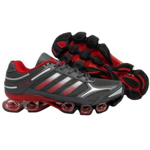 Adidas Mega Bounce Gray Red мужские кроссовки