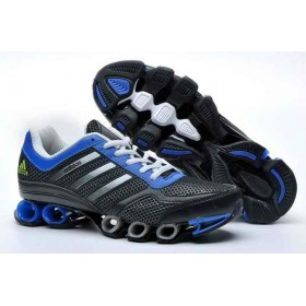 Adidas Mega Bounce Black Blue мужские кроссовки