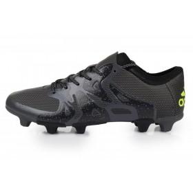 Adidas X 15.1 FG Black мужские кроссовки