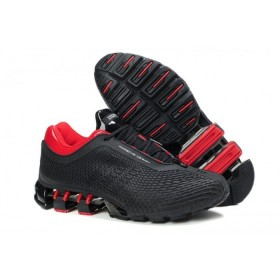 Adidas Porsche Design Rubber Black Red мужские кроссовки