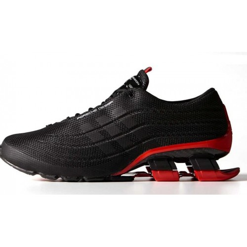 Adidas X Porsche Design Sport BOUNCE S4 Black Red мужские кроссовки