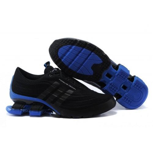 Adidas X Porsche Design Sport BOUNCE S4 Black Blue мужские кроссовки