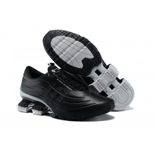 Adidas X Porsche Design Sport BOUNCE S4 Black Grey мужские кроссовки