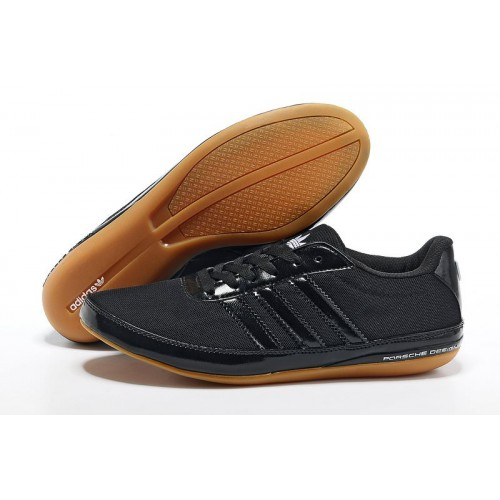 Adidas Porshe Design Casual Black мужские кроссовки