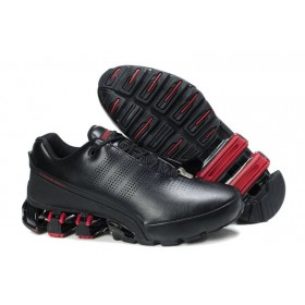 Adidas Porshe Design IV Leather Red Black мужские кроссовки