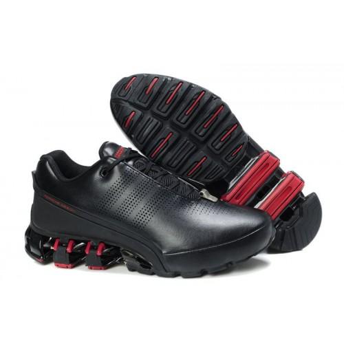 Adidas Porshe Design IV Leather Red Black мужские кроссовки
