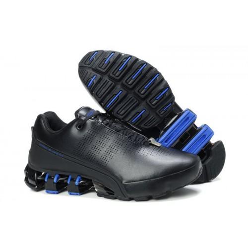 Adidas Porshe Design IV Leather Blue Black мужские кроссовки