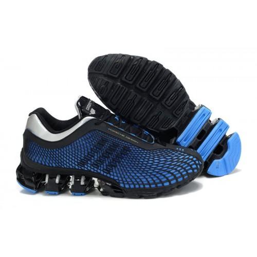 Adidas Porshe Design IV New Black Blue мужские кроссовки