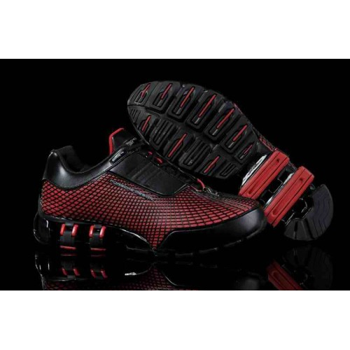 Adidas Porshe Design VI Red Black мужские кроссовки