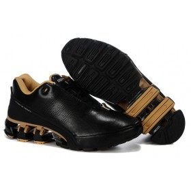 Adidas Porshe Design IV Leather Gold Black мужские кроссовки
