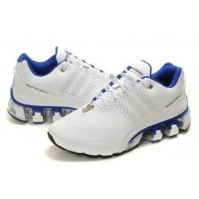 Adidas Porshe Design IV Leather Blue White мужские кроссовки