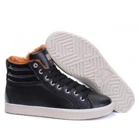 Adidas Ransom Fur Leather Black мужские кроссовки