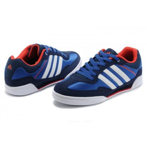 Adidas Rubber Master Blue Red мужские кроссовки