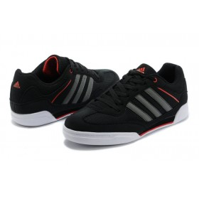 Adidas Rubber Master Black Red мужские кроссовки