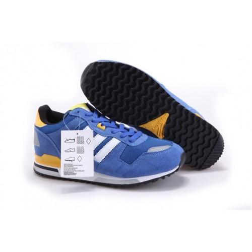 Adidas ZX700 Blue Yellow мужские кроссовки