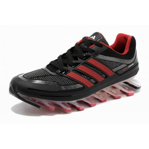 Adidas Springblade Black Red мужские кроссовки