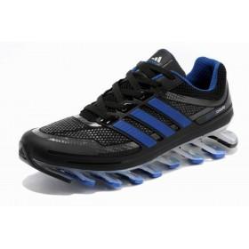 Adidas Springblade Blue Black мужские кроссовки