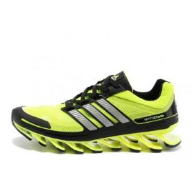 Adidas Springblade Lime Black мужские кроссовки