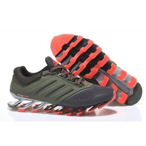 Кроссовки Adidas Springblade 2 Drive Grey Khaki Orange мужские