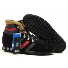 Adidas Jogging Hi S. W. Star Wars Chewbacca Black Red мужские кроссовки