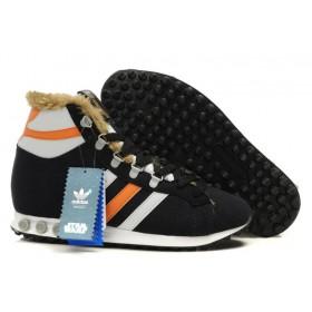 Adidas Jogging Hi S. W. Star Wars Chewbacca Black Orange мужские кроссовки
