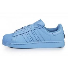 Adidas Superstar Supercolor Light Blue мужские кроссовки