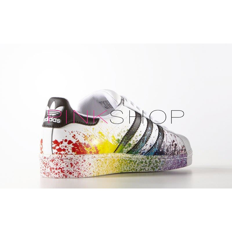 ... usa adidas originals superstar pride pack white rainbow adidas  superstar supercolor pw 1bae7 51c4e 81a99a50c1f66