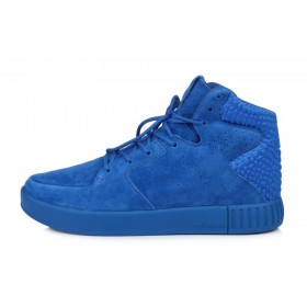 Adidas Originals Tubular Invader Strap 2.0 Blue мужские кроссовки
