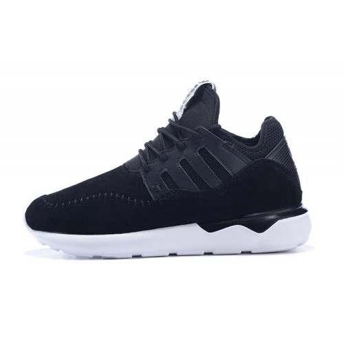 Adidas Tubular Moc Runner Suede Black мужские кроссовки