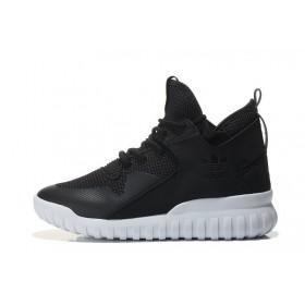 Adidas Tubular X Primeknit Black мужские кроссовки