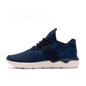 Adidas Tubular Runner Primeknit Stone Blue мужские кроссовки