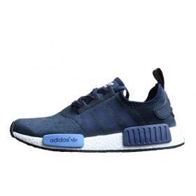 Adidas NMD Runner Suede Blue мужские кроссовки