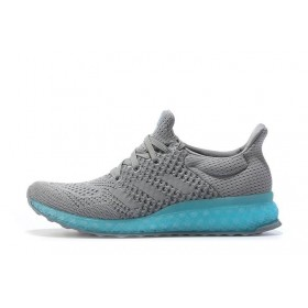 Adidas Ultra Boost FutureCraft 3D Grey Blue мужские кроссовки