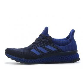 Adidas Ultra Boost FutureCraft 3D Navy Blue мужские кроссовки